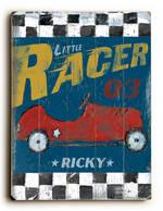 LITTLE RACER VINTAGE SIGN