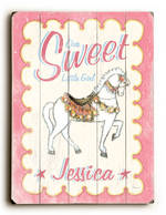 SWEET GIRL VINTAGE SIGN