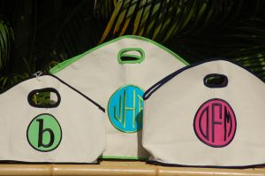 GG CANVAS BAG w APPLIQUE