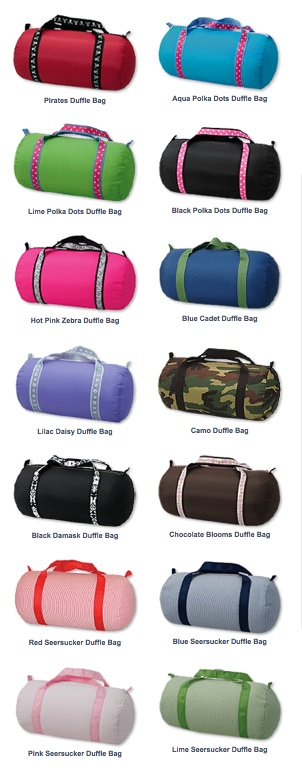 OH MINT MEDIUM DUFFLE BAG-OTHER COLORS AVAILABLE