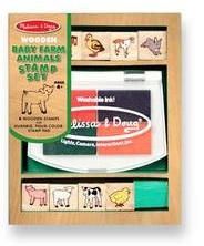 MELISSA AND DOUG BABY FARM ANIMALS STAMP SET