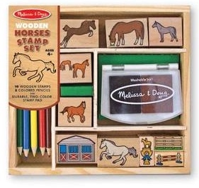 MELISSA AND DOUG HORSE STAMP SET