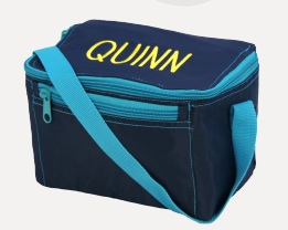 NAVY/TURQ LUNCH BOX
