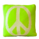 PILLOW w PEACE SIGN