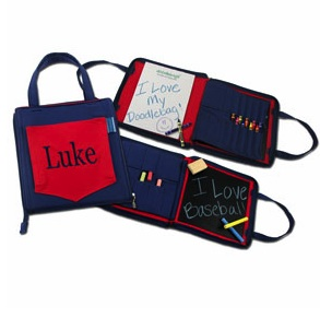 RED CARRY DOODLE BAG