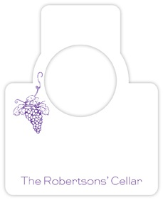 GRAPE WINE TAG