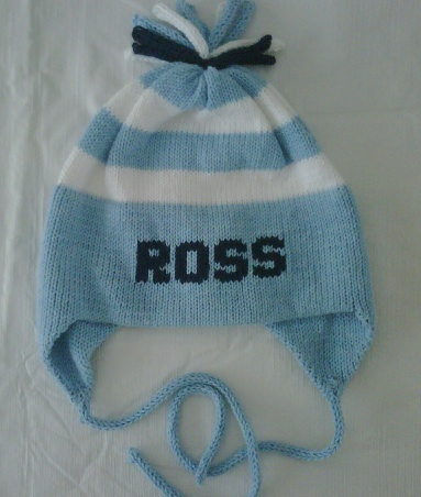 MJK KNIT STRIPE HAT-FOR GIRLS AND BOYS
