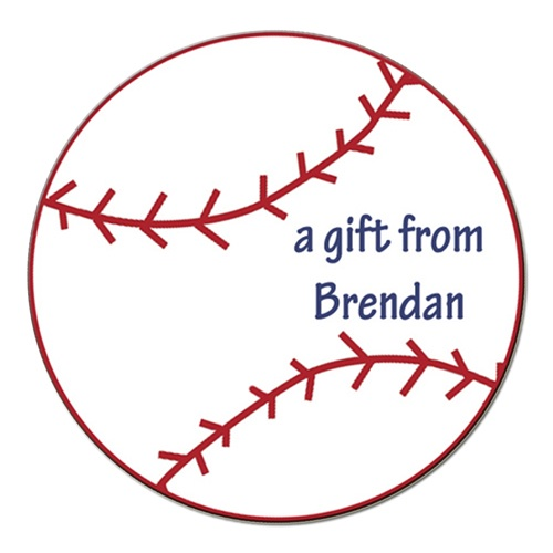 BASEBALL GIFT STICKER