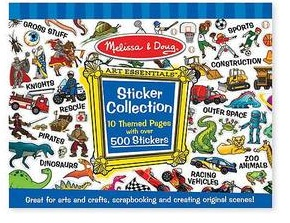 BLUE STICKER COLLECTION