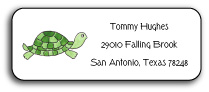 TURTLE ADDRESS LABEL