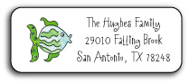 FISH ADDRESS LABEL