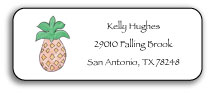 PINEAPPLE ADDRESS LABEL