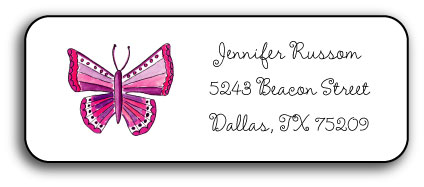 MARIPOSA ADDRESS LABEL