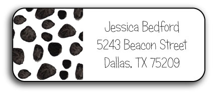 DALMATION DOTS ADDRESS LABEL