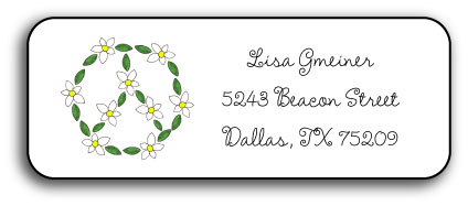 DAISY CHAIN ADDRESS LABEL