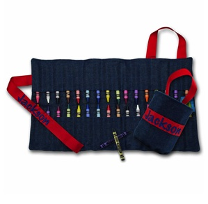 CRAYOLA� CRAYON KEEPER-DENIM