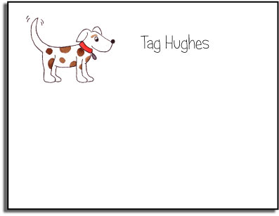 PUPPY DOG KIDS FLAT NOTES