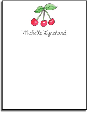 CHERRIES FLAT NOTE CARDS