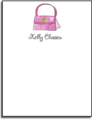 HANDBAG FLAT NOTE CARDS