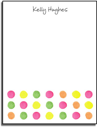 DOTS FLAT NOTE CARDS