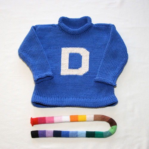 MJK Initial Sweater