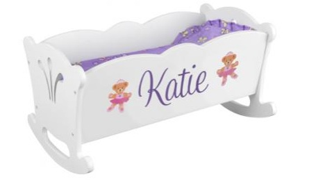 KID KRAFT PERSONALIZED DOLL BED