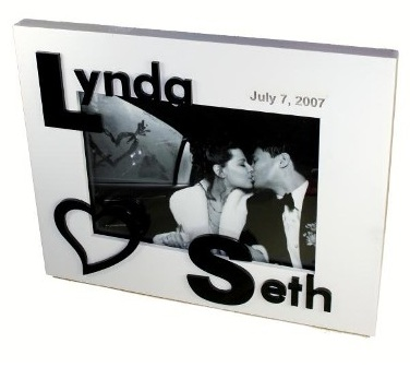 3D COUPLE NAME FRAME