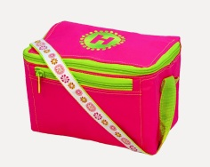 HOT PINK BLOSSOM LUNCH BAG
