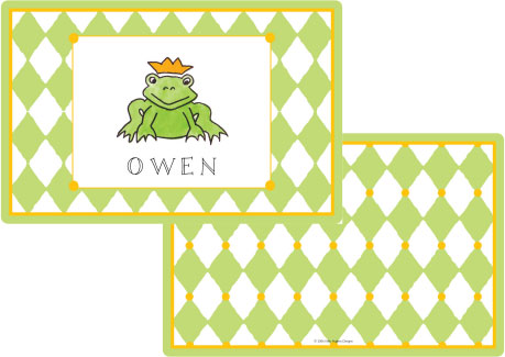 FROG PRINCE PLACEMAT