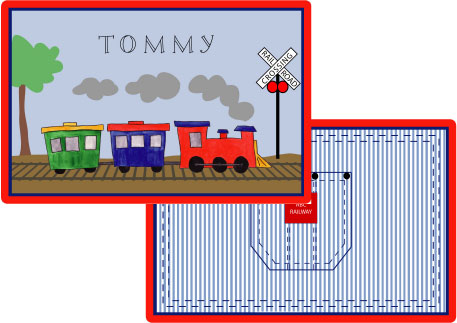ALL ABOARD PLACEMAT