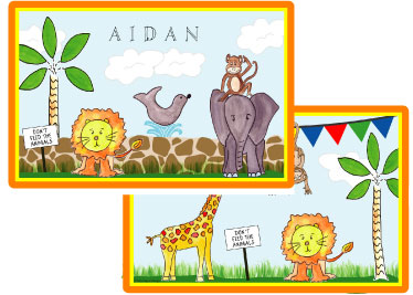 ZOO FRIENDS PLACEMAT