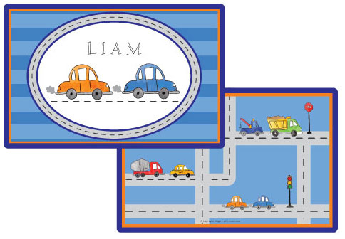 VROOM VROOM PLACEMAT