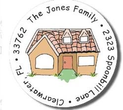 FAMILY HOUSE RETURN ADDRESS LABELS