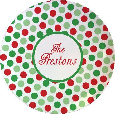 CHRISTMAS TABLETOP PLATE