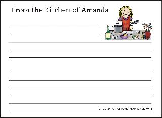 RECIPE CARD 8