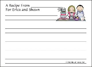 RECIPE CARD 9