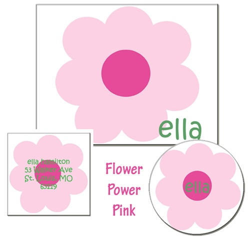 FLOWER POWER PINK GIFT SET