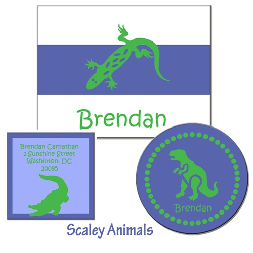 SCALEY ANIMALS