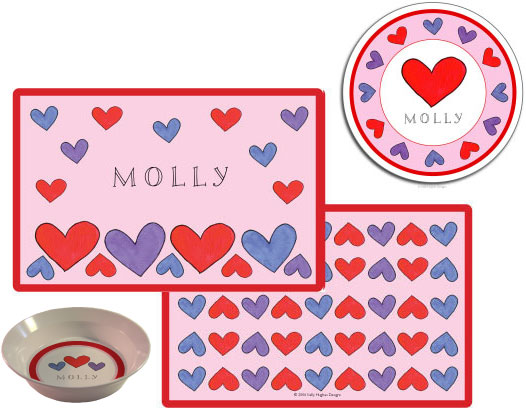 HAPPY HEARTS 3 PC SET