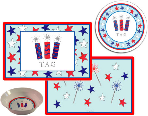 FIRECRACKERS 3 PC SET