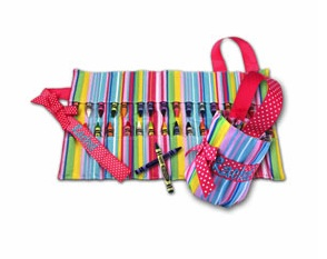 STRIPE CRAYON KEEPER
