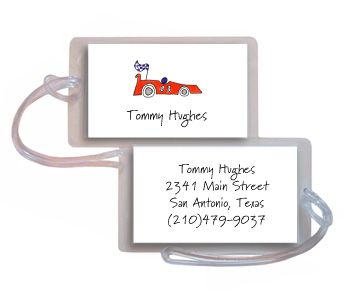 ON YOUR MARK LUGGAGE TAG