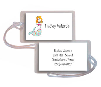 LITTLE MERMAID LUGGAGE TAG