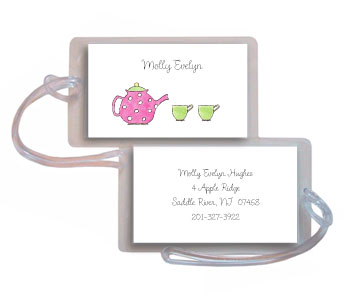TEAPOT LUGGAGE TAG