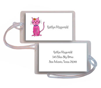 KITTY KITTY LUGGAGE TAG