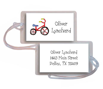TRIKE LUGGAGE TAG
