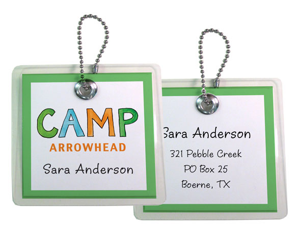 CAMP BAG TAG