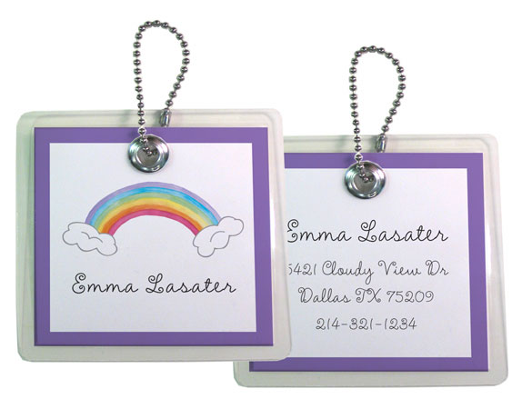 RAINBOW BAG TAG