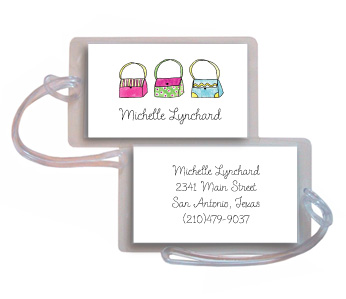 HANDBAG HAVEN LUGGAGE TAG