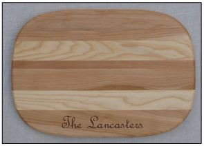 EVERYDAY PERSONALIZED MEDIUM CUTTING BOARD
